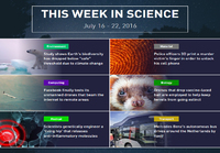 This week in science (W29)