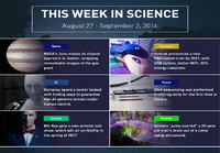 This week in science (W35)