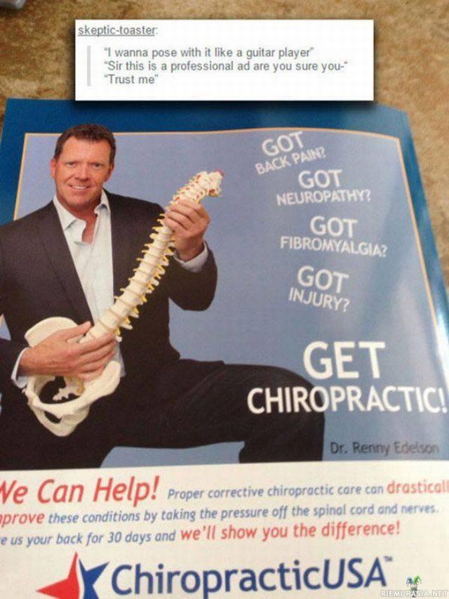 Kiropraktikko