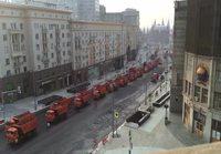Asvalttityöt moskovan keskustassa