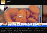 McMarry me?