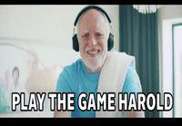 Harold mainostaa