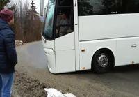 Bussikuskilla huono päivä