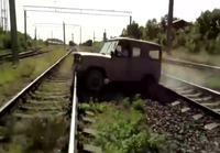 Heij Vladimir, oikaistaan radan yli