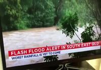 Tulva Australiassa