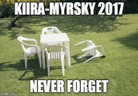 Kiira, Never forget