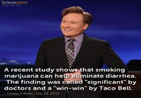 Conan O'Brien marijuana