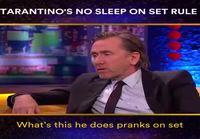 Tarantinon leffakuvauksissa ei nukuta