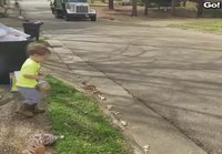 Pikkupoika ja roskakuskit