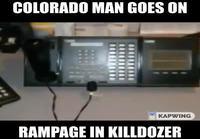 Coloradomiehen raivokohtaus