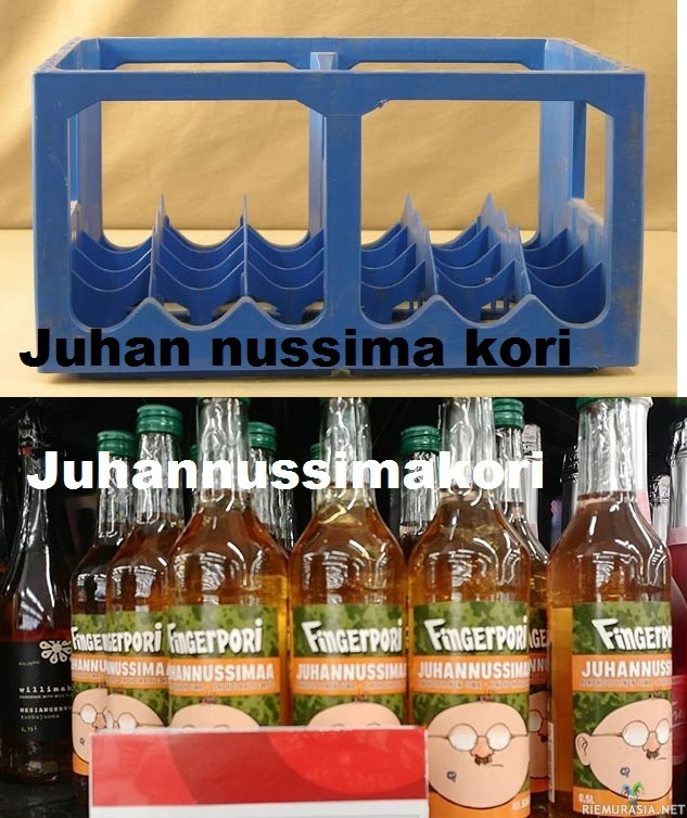 know the difference - juhannus sima juhan nussima kori