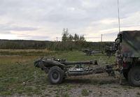 M119 Haupitsilla ampumista