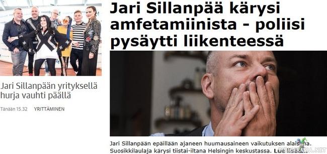 Jari Sillanpää vauhdissa