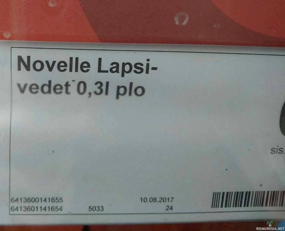 Novelle Lapsivesi