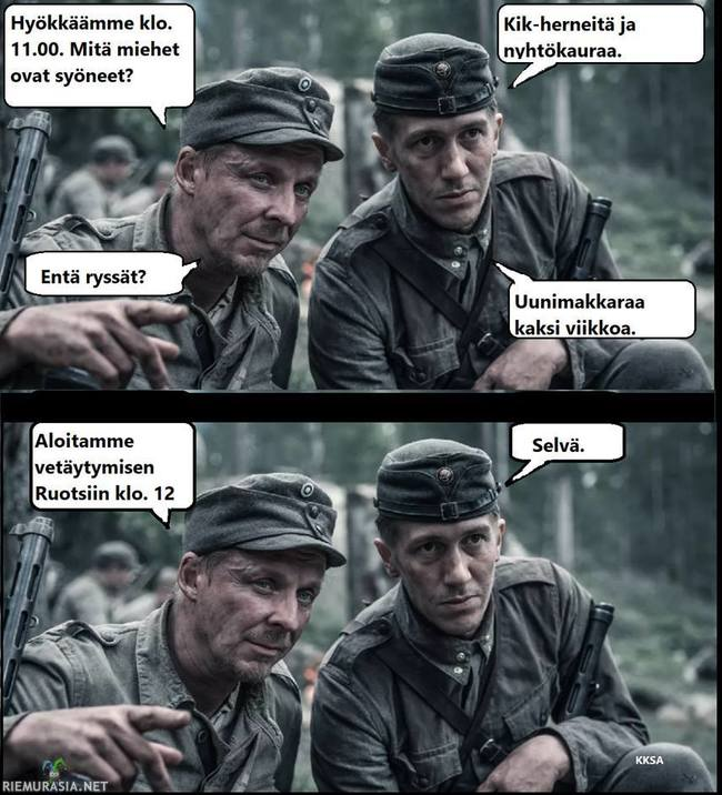 Sotilas marssii vegeruualla