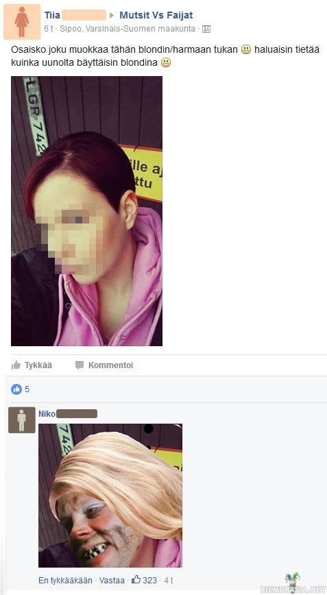 Facebook sukupuoli