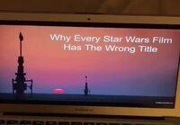 Kaikki StarWars-elokuvien nimet on sekaisin