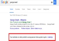 Googlen ironia