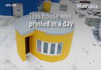 3D-tulostettu koti kymppitonnilla