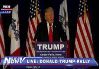 Donald Trump lukee runon käärmeestä