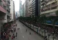 Hong Kongissa kahden miljoonan ihmisen mielenosoitus