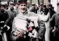 Verdunin taistelua väreissä