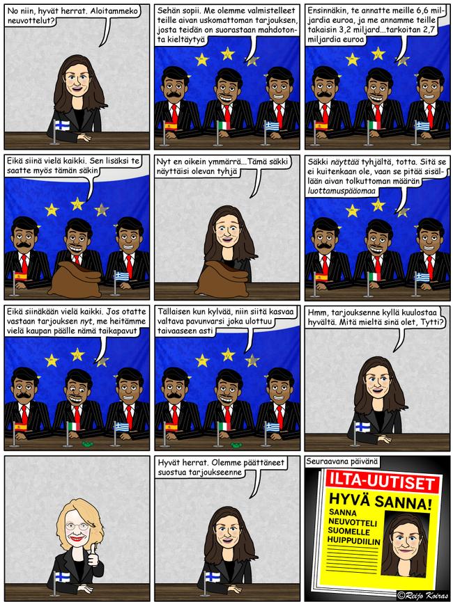 Sanna ja EU