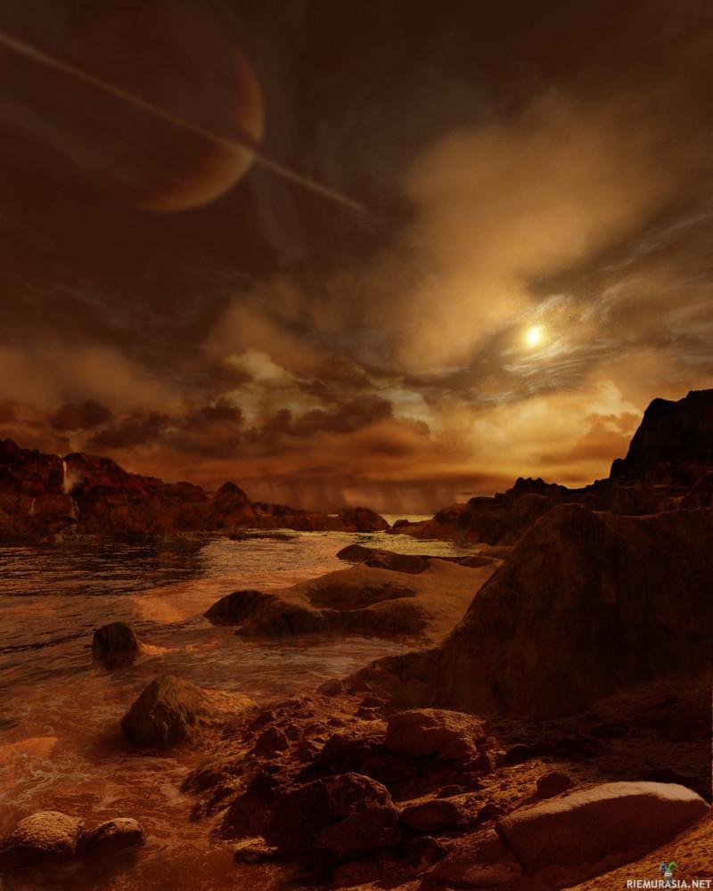 Titan hiilivetyjärvi