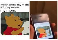 Esittelet meemejä äitilles