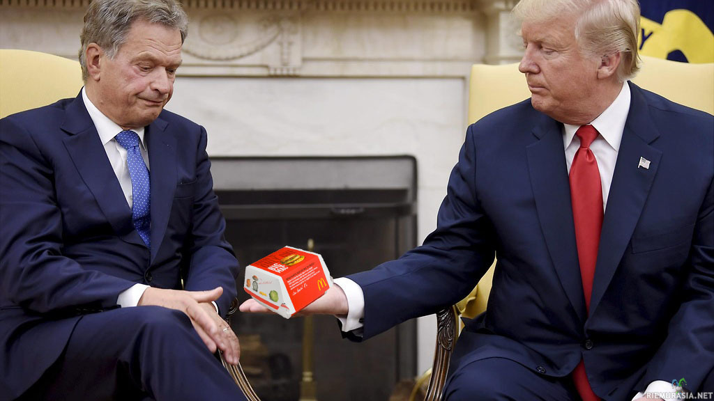 Niinistö Trump