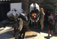 Horizon: Zero dawn cosplay E3 messuilla
