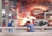Koneen toimintahäiriö tehtaalla