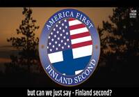 America first, but can we just say Finland second.