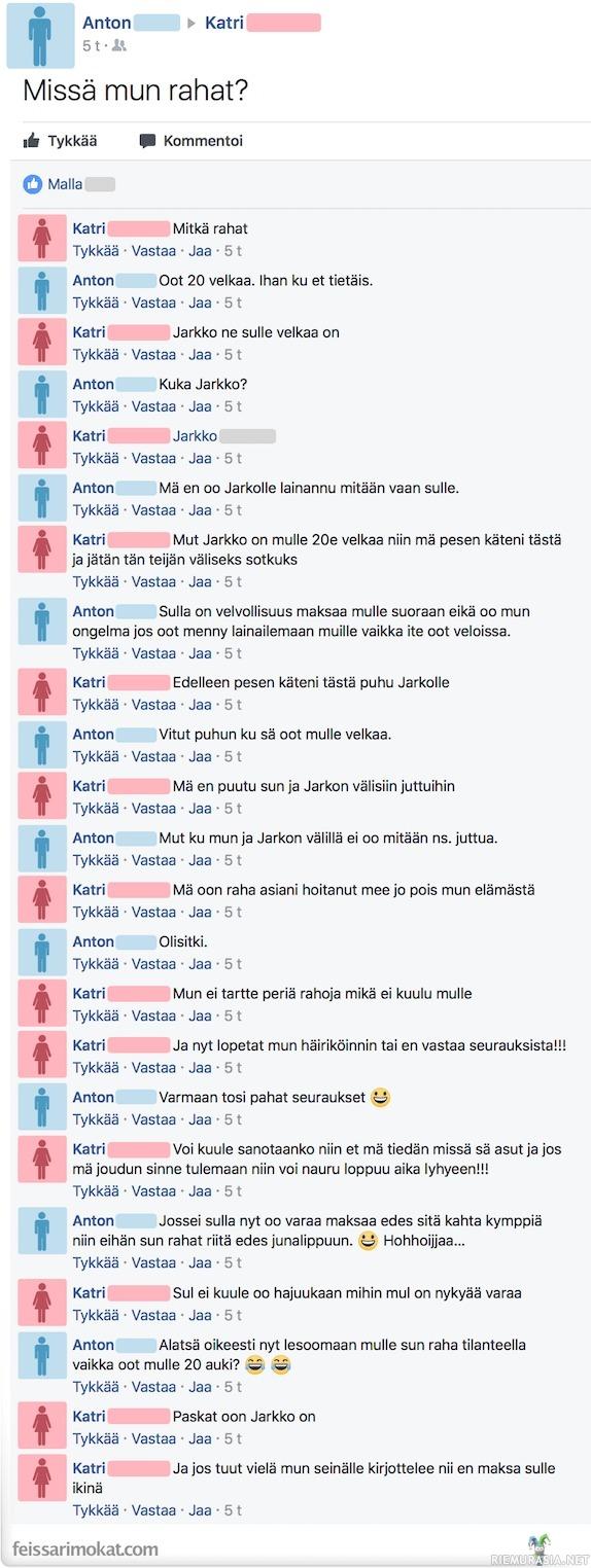 Joni Maksa Velat