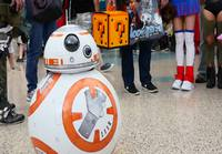 Suloinen BB-8 Cosplay