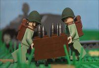 Toisen maailmansodan taistelua Legoilla