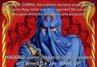 Cobra was an inside job