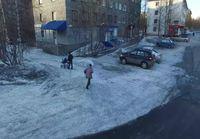 Dronella kuvaamista venäläisessä naapurustossa