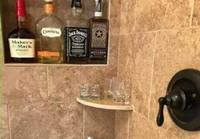 Bar to the shower