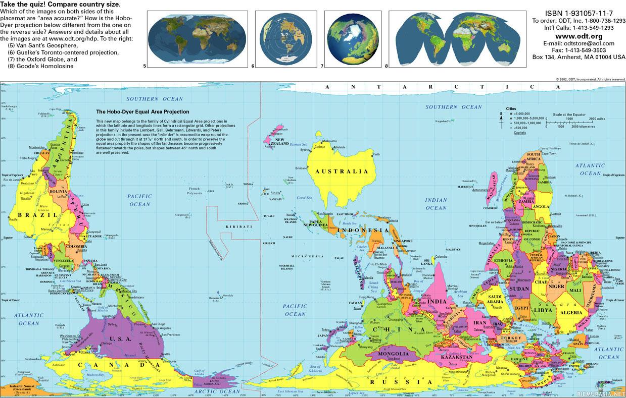 Australia Kartta