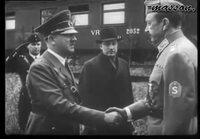 Hitler vierailee Suomessa