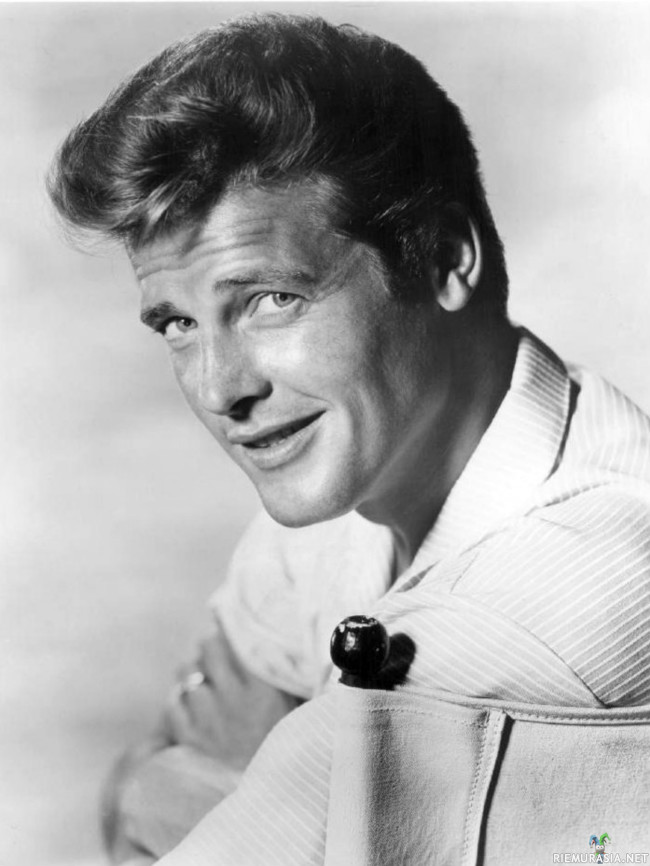 "RIP Roger Moore (14.10.1927 – 23.5.2017) - ""My father believed in toughness, honesty, politeness and being on time. All very important lessons."""