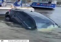 Auto sukellusveneenä