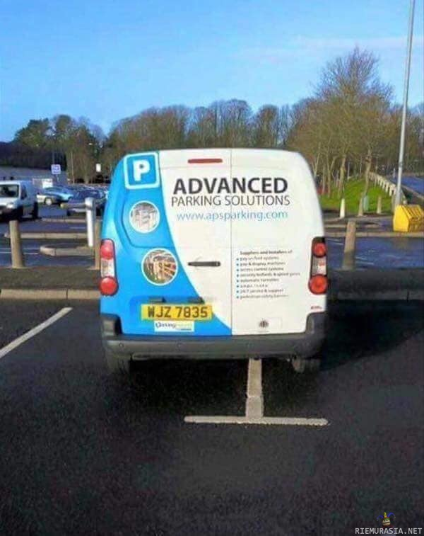Advanced parking solutions - Advanced parking solutions