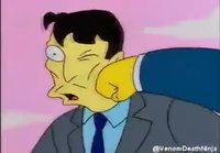 Yakuza ja Simpsonit parodia