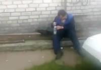 Venäläismiehen siivekäs juomakaveri