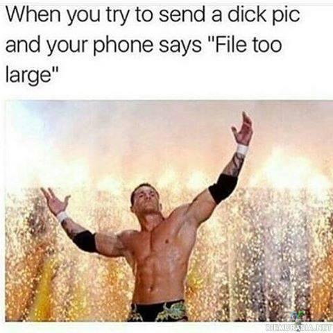 Dicks liian iso hänen