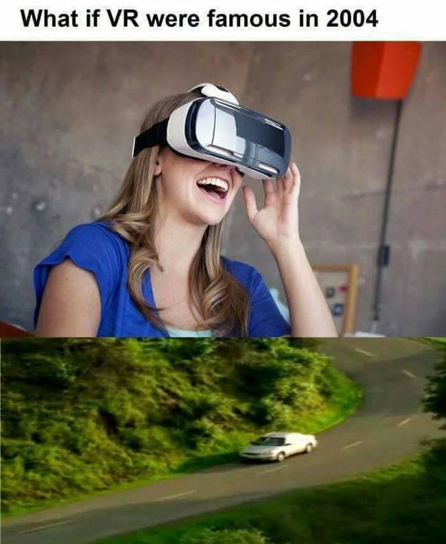 VR-lasit vuonna 2004