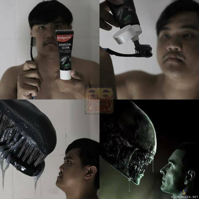 Xenomorph - Lowcost cosplay