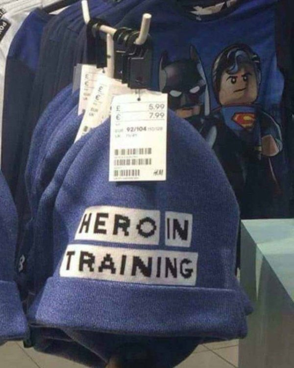 Hero in training